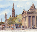 Edinburgh - Princes St