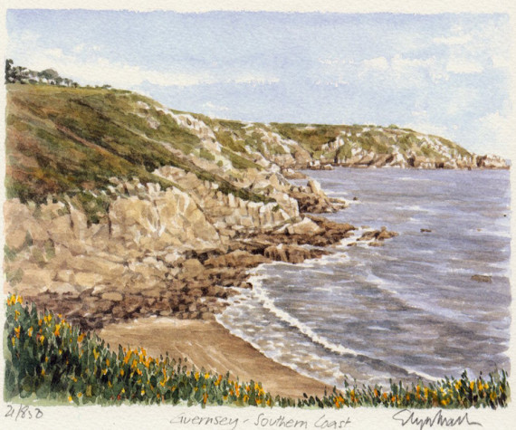 PB1215 Guernsey South Coast
