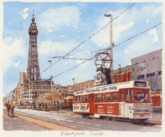 PB1235 Blackpool Tower