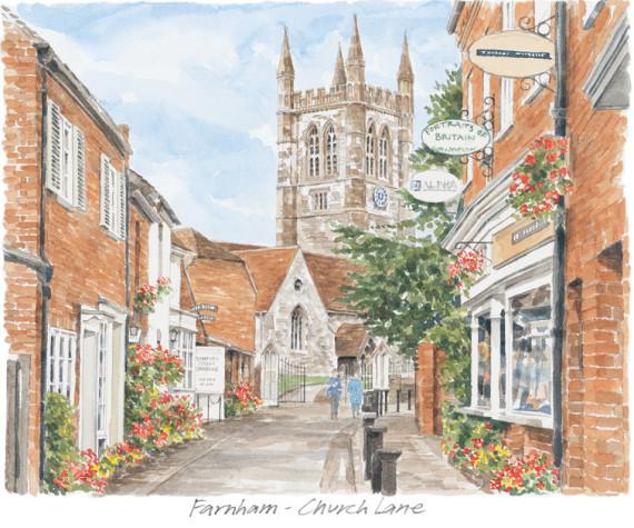 Church Street Farnham