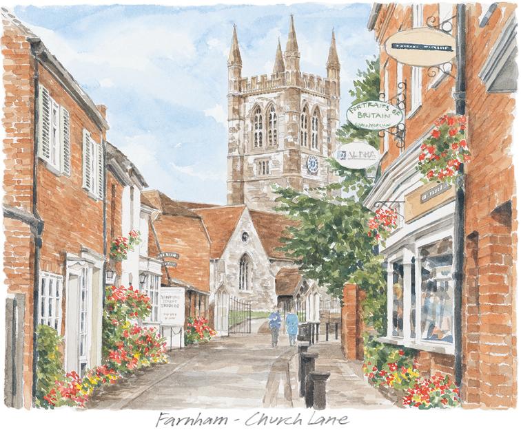 Farnham - Upper Church Lane