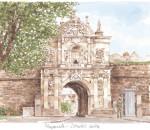 Plymouth - Citadel gate