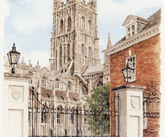 PB1275 Gloucester Cathedral