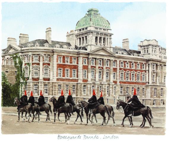 PB1280 Horseguards Parade